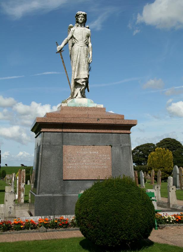 Three Parishes Cemetery - Banks Mausoleum